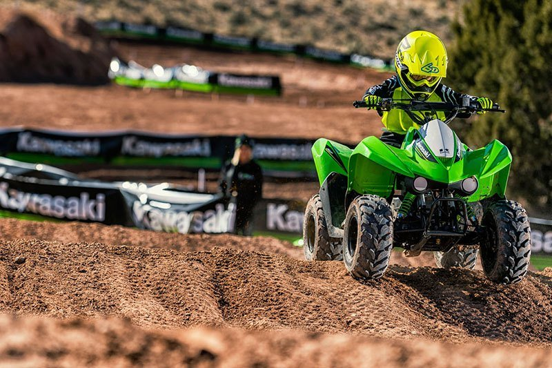 2019 Kawasaki KFX50 in Howell, Michigan