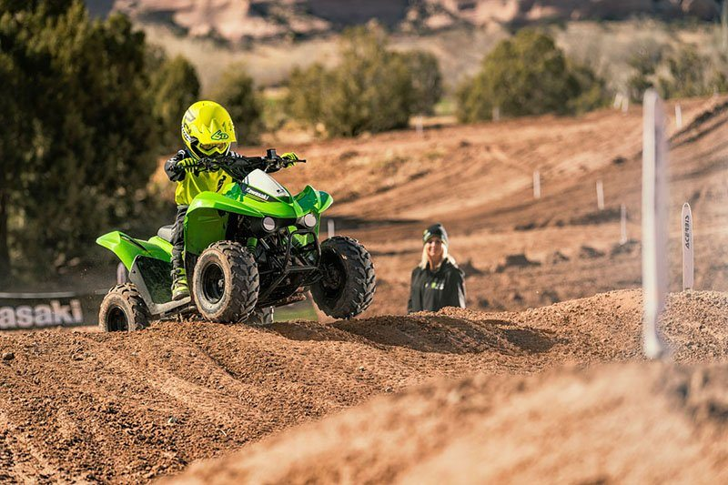 2019 Kawasaki KFX 50 in South Paris, Maine - Photo 11