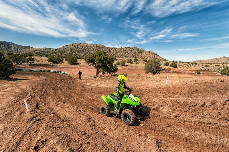 2019 Kawasaki KFX 90 in Oklahoma City, Oklahoma - Photo 7