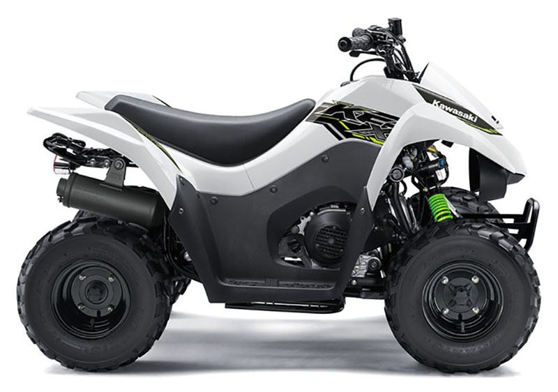 2019 Kawasaki KFX 50 in Oklahoma City, Oklahoma - Photo 1