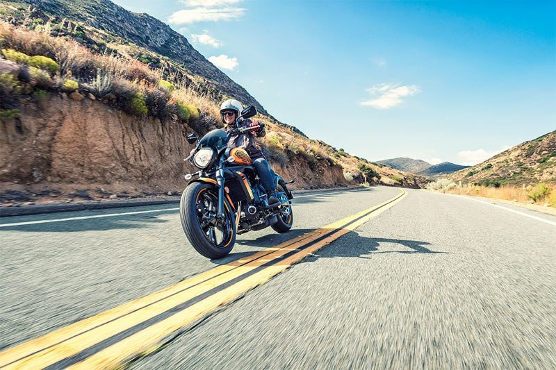 2019 Kawasaki Vulcan S ABS Café in Littleton, New Hampshire