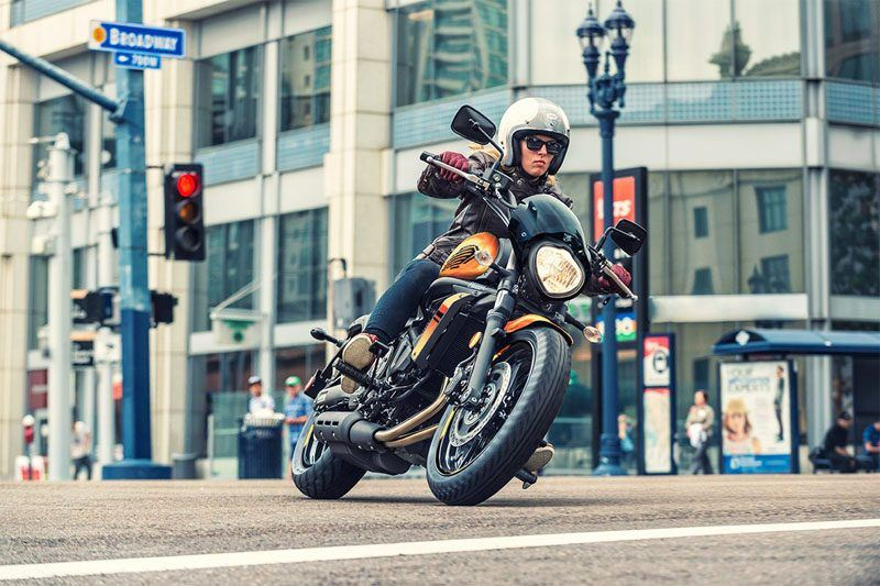 2019 Kawasaki Vulcan S ABS Café in Baldwin, Michigan