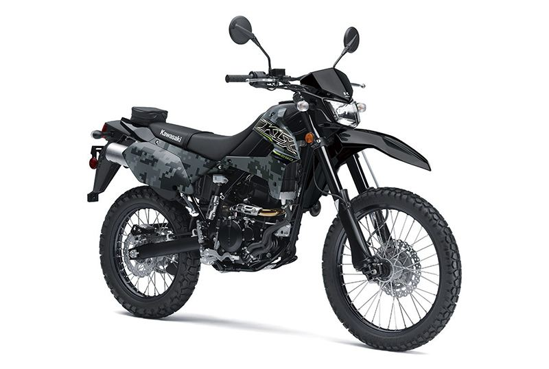 2019 Kawasaki KLX 250 Camo in Garden City, Kansas