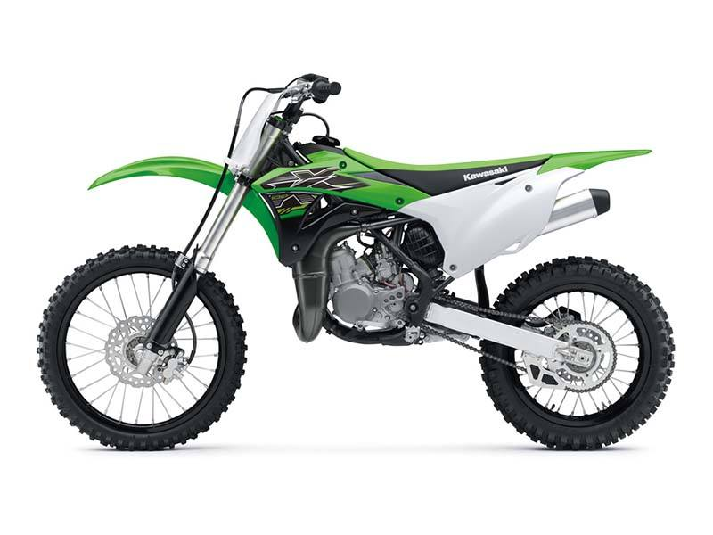 2019 Kawasaki KX 100 in Mount Pleasant, Michigan - Photo 2