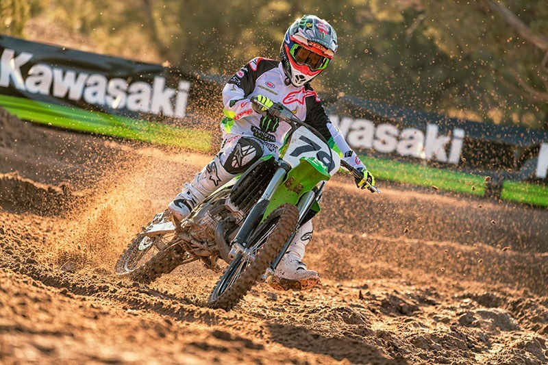 2019 Kawasaki KX 100 in Mount Pleasant, Michigan - Photo 4