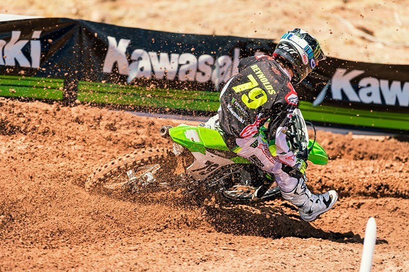 2019 Kawasaki KX 100 in Mount Pleasant, Michigan - Photo 6