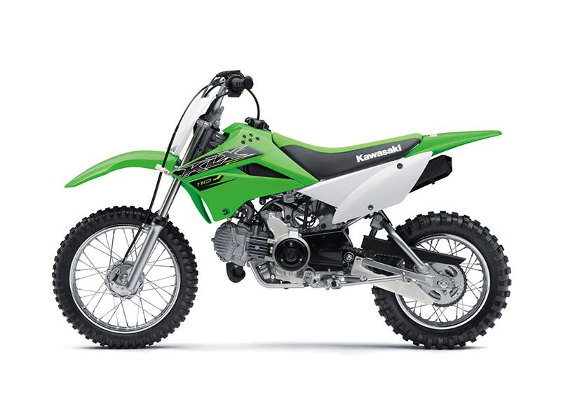2019 Kawasaki KLX 110 in O Fallon, Illinois