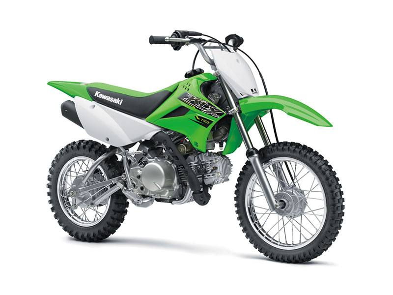 2019 Kawasaki KLX 110 in Mount Pleasant, Michigan