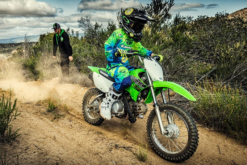 2019 Kawasaki KLX 110 in Santa Clara, California - Photo 11