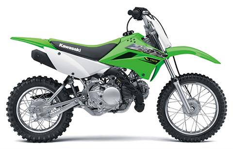 2019 Kawasaki KLX 110 in Barre, Massachusetts