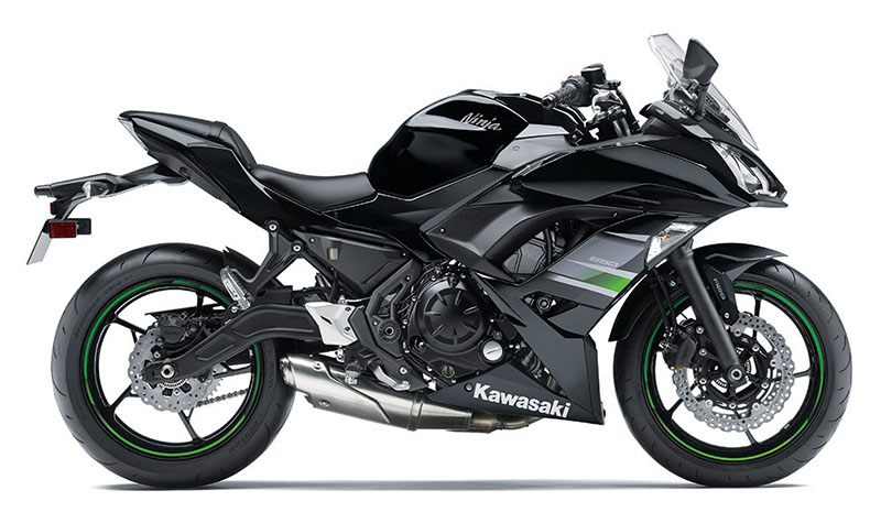 2019 Kawasaki Ninja 650 in Huron, Ohio - Photo 1