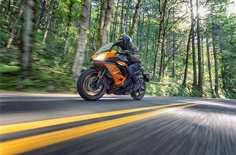 2019 Kawasaki Ninja 650 ABS in Northampton, Massachusetts