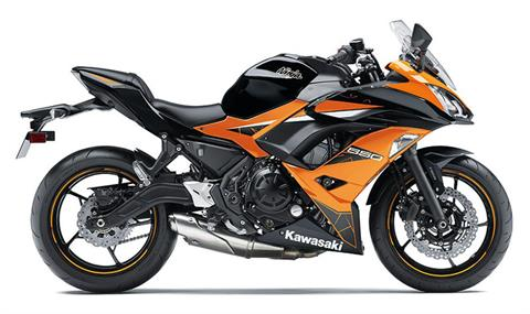 2019 Kawasaki Ninja 650 ABS in Brilliant, Ohio