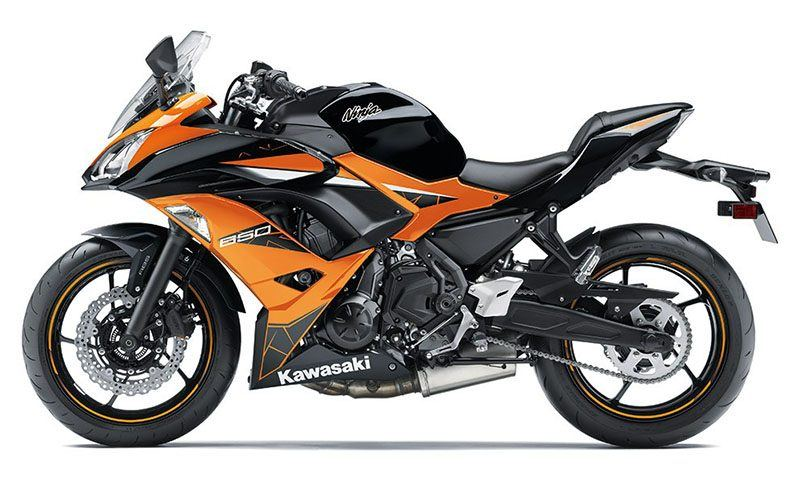 2019 Kawasaki Ninja 650 ABS in Junction City, Kansas