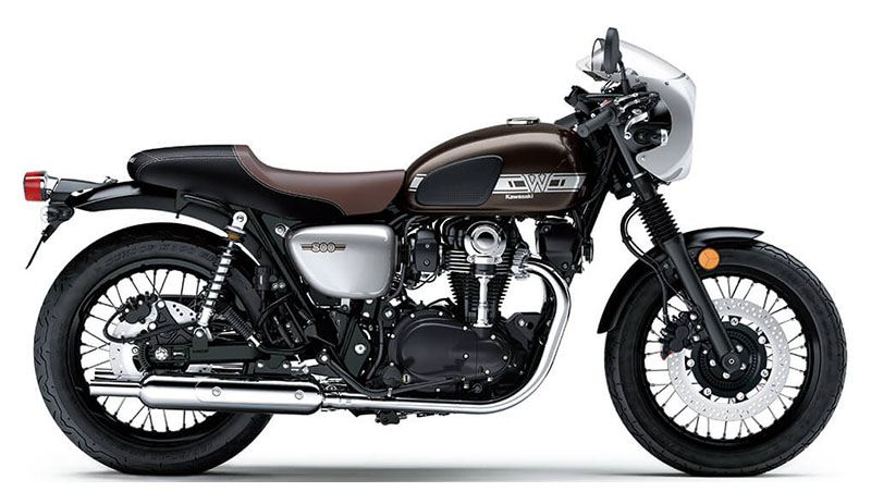 2019 Kawasaki W800 Cafe in Hollister, California - Photo 1