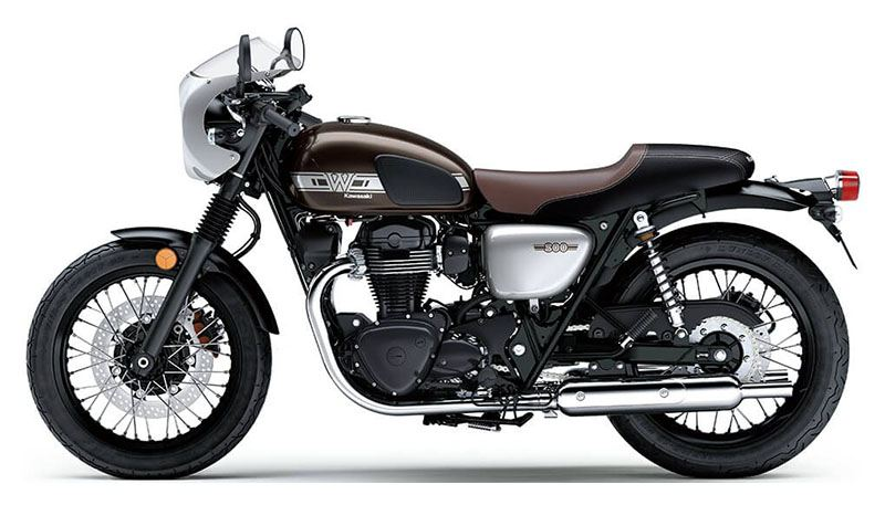 2019 Kawasaki W800 Cafe in Hollister, California - Photo 2