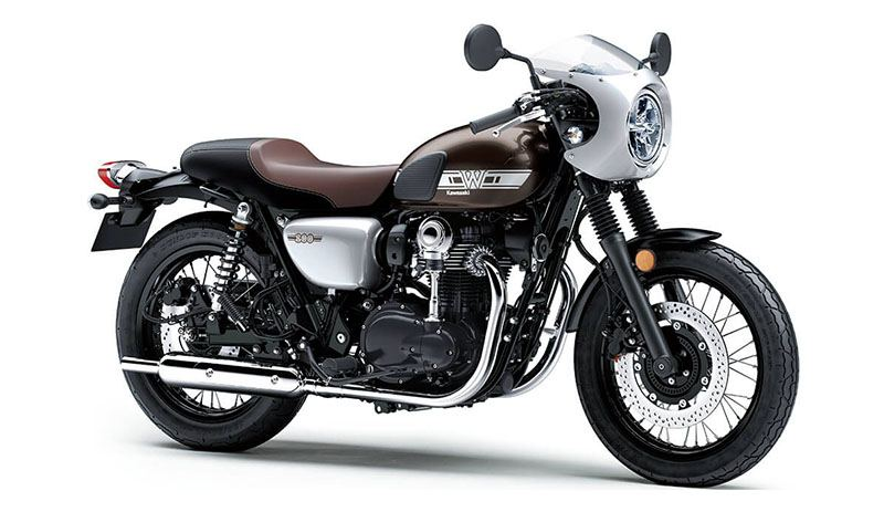 2019 Kawasaki W800 Cafe in Hollister, California - Photo 3