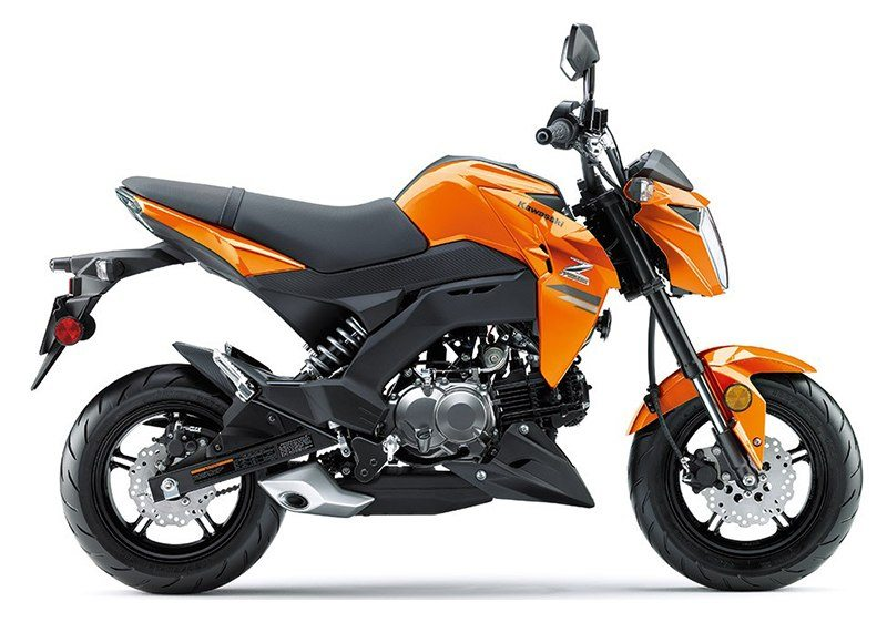 2019 Kawasaki Z125 Pro in Orange, California - Photo 1