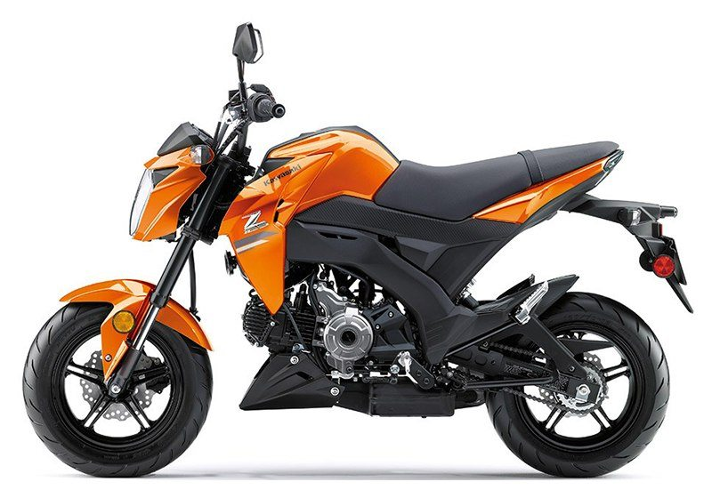 2019 Kawasaki Z125 Pro in Orange, California - Photo 2