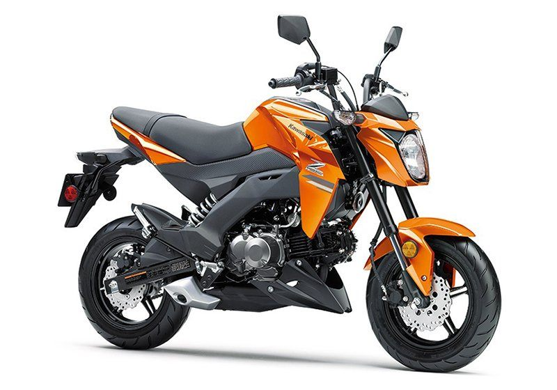 2019 Kawasaki Z125 Pro in Orange, California - Photo 3