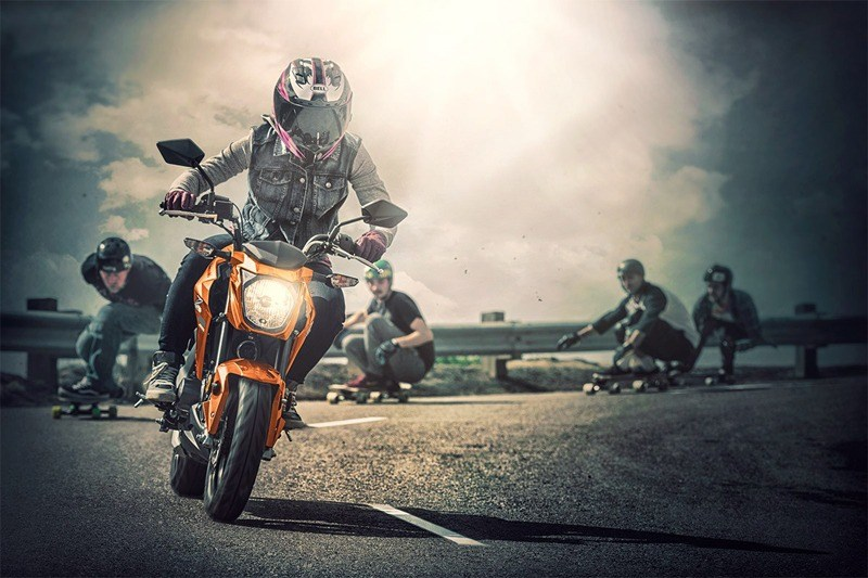2019 Kawasaki Z125 Pro in Orange, California - Photo 6