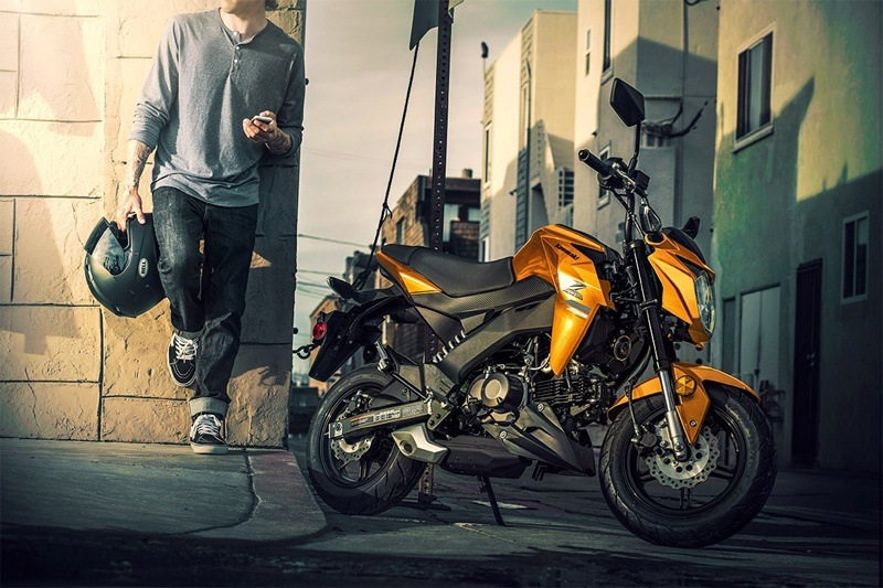 2019 Kawasaki Z125 Pro in Orange, California - Photo 7