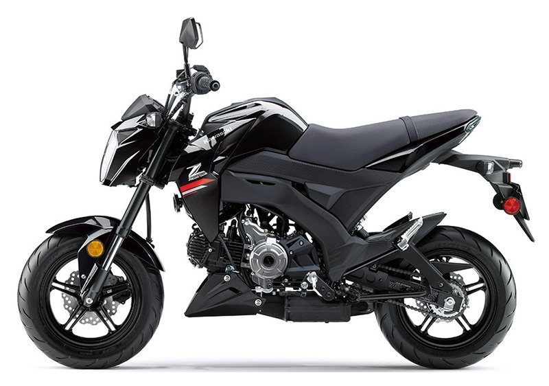 2019 Kawasaki Z125 Pro in Hayward, California