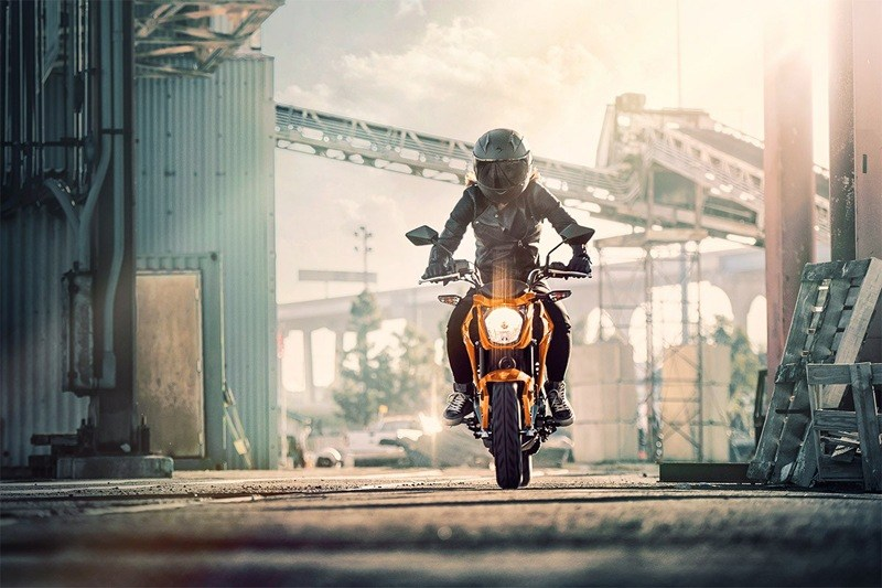 2019 Kawasaki Z125 Pro in Mount Pleasant, Michigan
