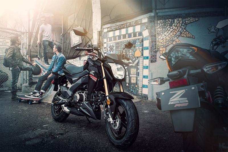 2019 Kawasaki Z125 Pro in Corona, California