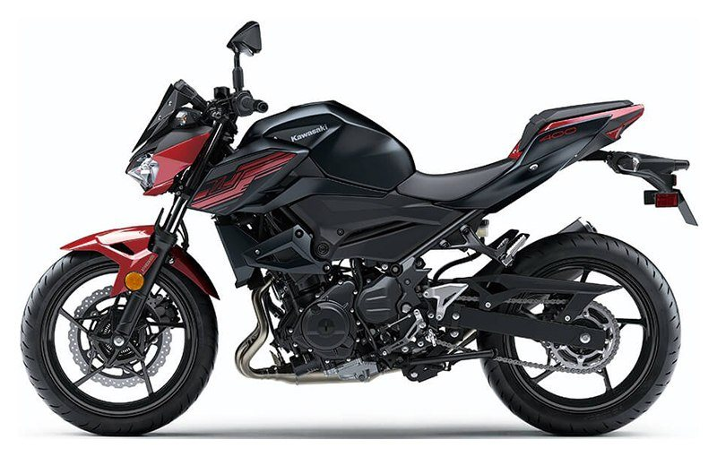 2019 Kawasaki Z400 ABS in Albemarle, North Carolina