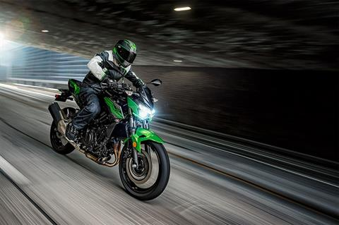 2019 Kawasaki Z400 ABS in Hialeah, Florida