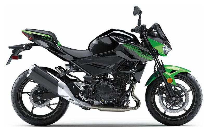 2019 Kawasaki Z400 ABS in Freeport, Illinois