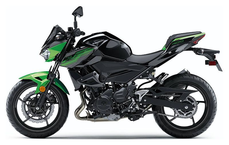 2019 Kawasaki Z400 ABS in Kaukauna, Wisconsin - Photo 2