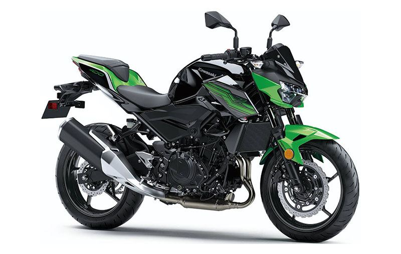 2019 Kawasaki Z400 ABS in Conroe, Texas