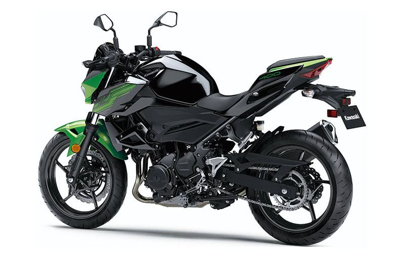 2019 Kawasaki Z400 ABS in Everett, Pennsylvania - Photo 4