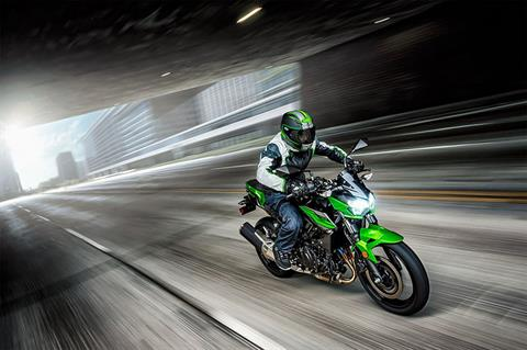 2019 Kawasaki Z400 ABS in Brilliant, Ohio