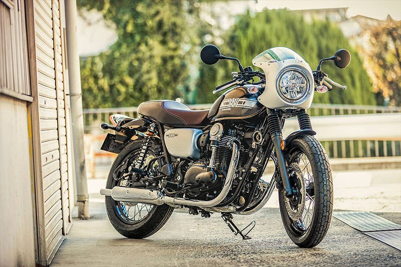 2019 Kawasaki W800 CAFE in Howell, Michigan - Photo 5