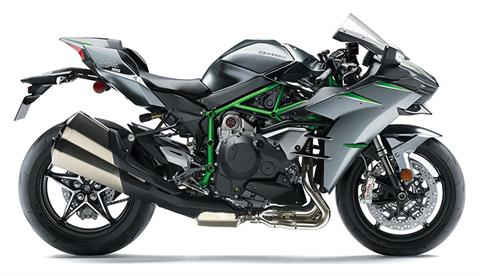 2019 Kawasaki Ninja H2 Carbon in Barre, Massachusetts