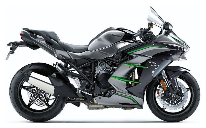 2019 Kawasaki Ninja H2 SX SE+ in Orange, California
