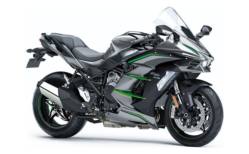 2019 Kawasaki Ninja H2 SX SE+ in Merced, California - Photo 3