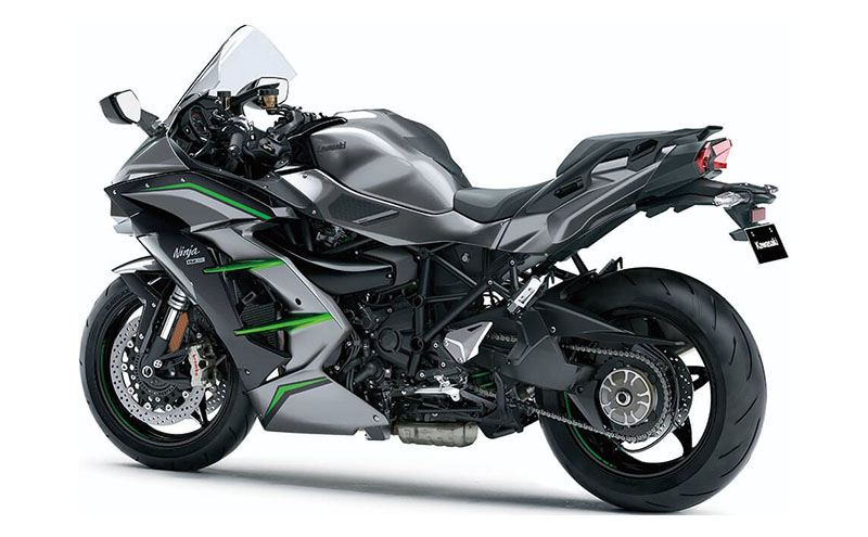 2019 Kawasaki Ninja H2 SX SE+ in Dalton, Georgia - Photo 4
