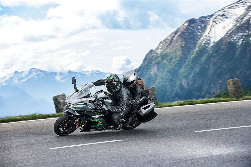 2019 Kawasaki Ninja H2 SX SE+ in Gonzales, Louisiana - Photo 8
