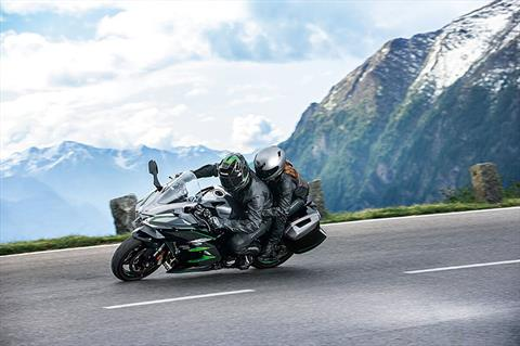 2019 Kawasaki Ninja H2 SX SE+ in Dalton, Georgia - Photo 8
