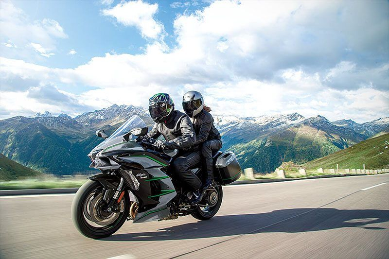 2019 Kawasaki Ninja H2 SX SE+ in Bellevue, Washington - Photo 9