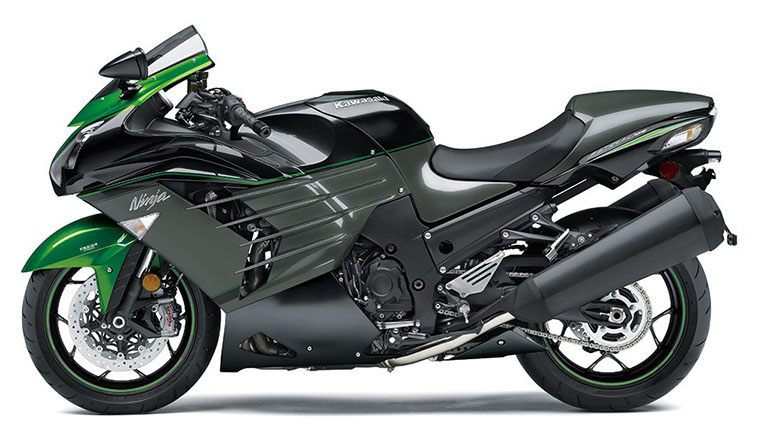 New 2019 Kawasaki Ninja Zx 14r Motorcycles In Plano Tx Metallic