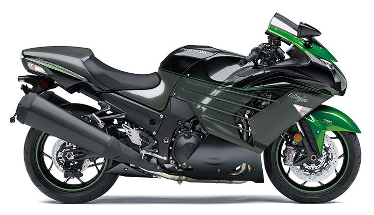 New 2019 Kawasaki Ninja Zx 14r Motorcycles In Evansville In Stock