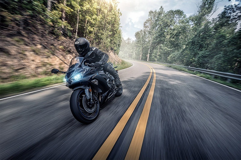2019 Kawasaki NINJA ZX-6R in Brilliant, Ohio