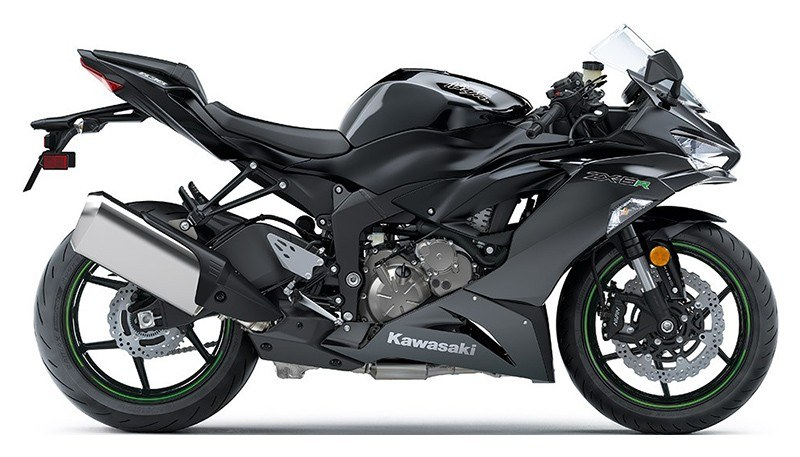 2019 Kawasaki Ninja ZX-6R in Redding, California
