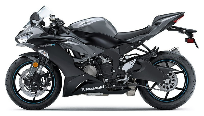 2019 Kawasaki Ninja ZX-6R ABS in Cambridge, Ohio