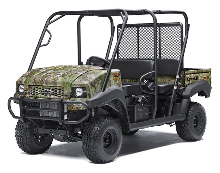 2019 Kawasaki Mule 4010 Trans4x4 Camo in San Jose, California - Photo 3